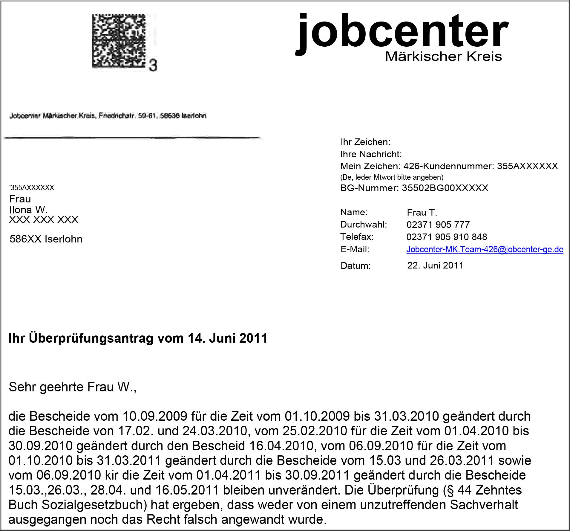 50 M Fax Empfang Geleugnet